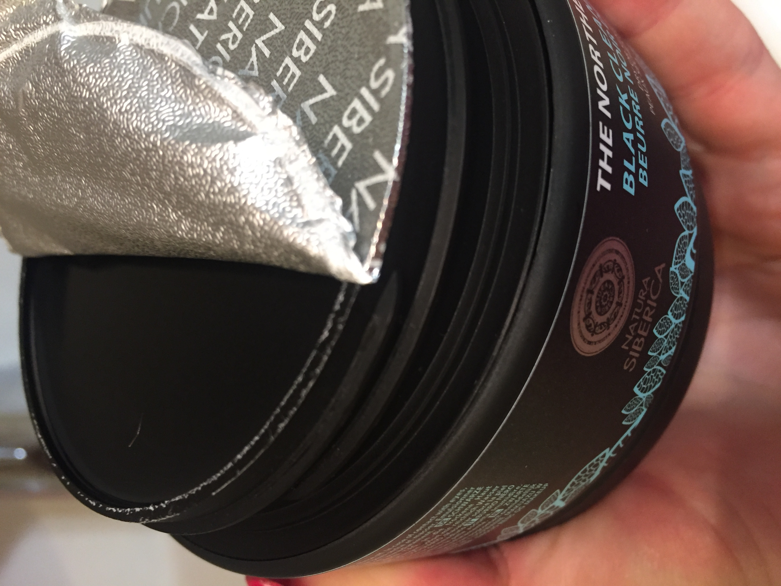 Natura Siberica - Black Cleansing Butter